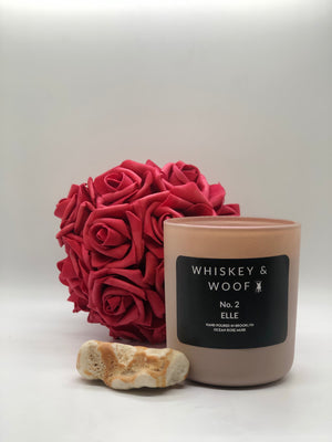 PINK 12 Oz Candle Holder: 5 Different Scent Options
