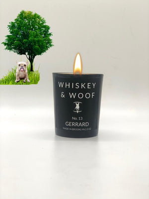 No. 13 GERRARD: Oak, Amber & Vetiver Scented Candle