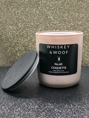 No. 60 Coquette: Dark Rose & Fig Candle