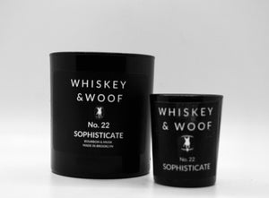 No. 22 SOPHISTICATE:Bourbon & Musk Scented Candle
