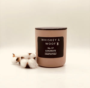 No. 17 LUXURIATE: Whiskey & Cashmere Candle
