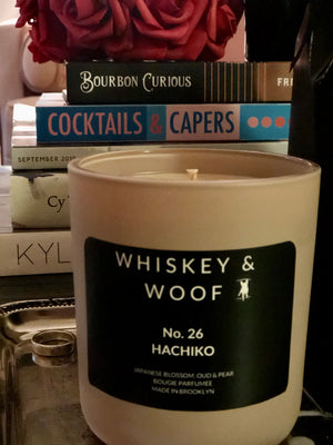 No. 26 HACHIKO: Japanese Blossoms Scented Candle