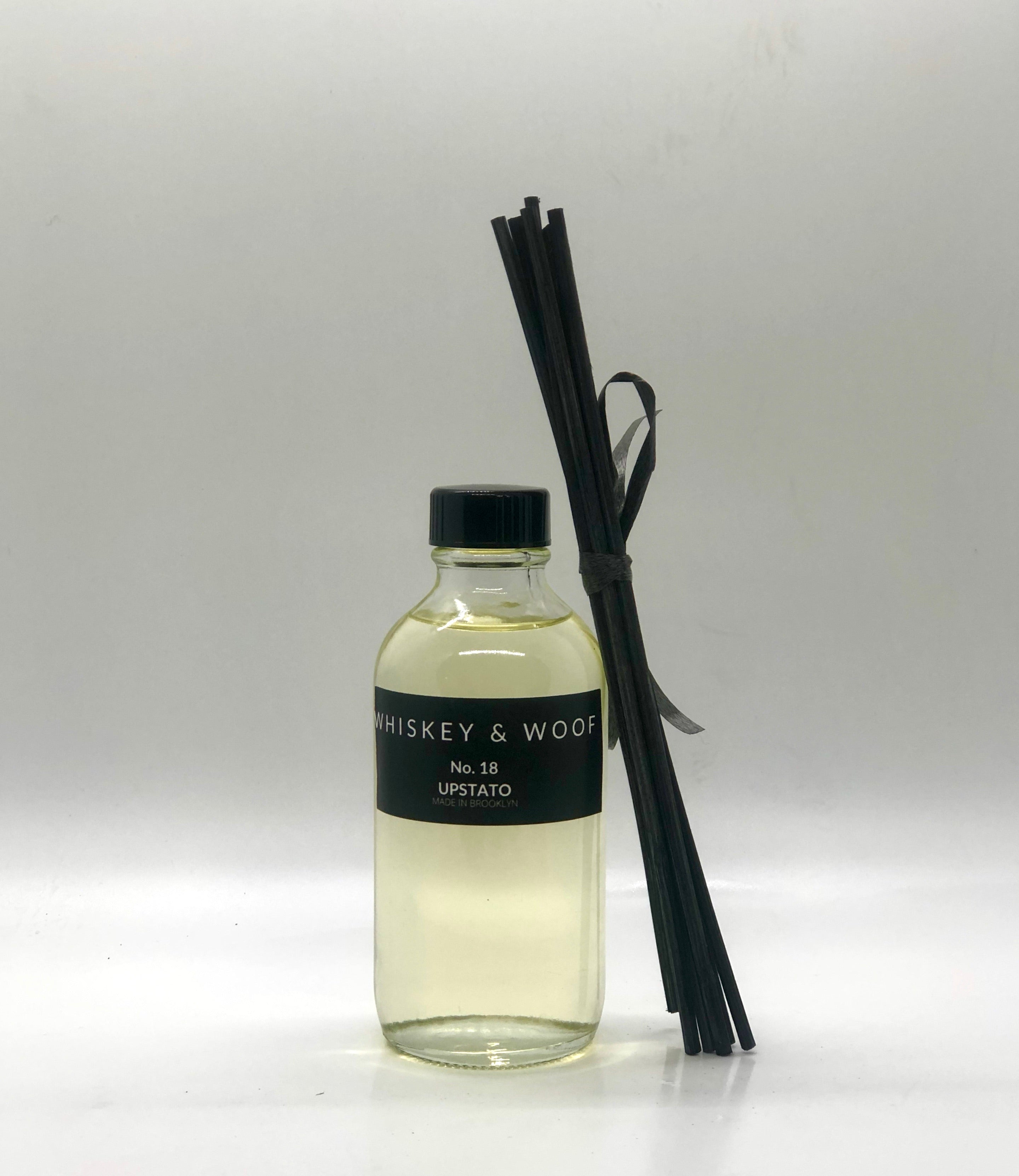 No.18 UPSTATO: Musk & Cedar Candle or Reed Diffuser