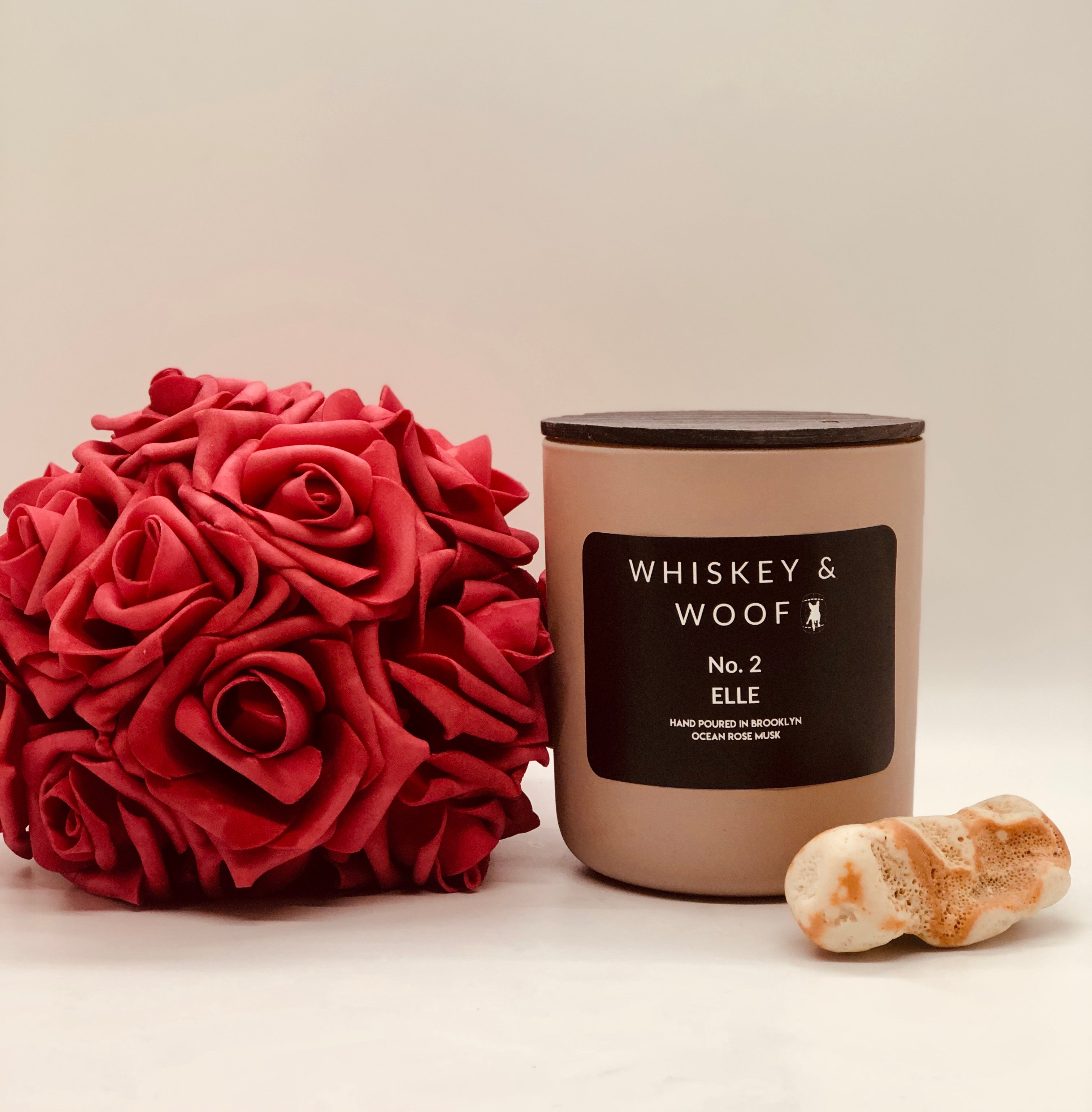 No. 2 ELLE : Ocean Rose Musk Candle