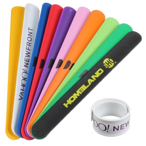 Promotional Custom Logo Slap Bracelets