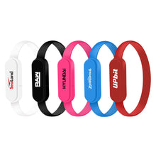 Load image into Gallery viewer, Promotional Custom Logo 2-in-1 Connector Charging Cable Bracelet