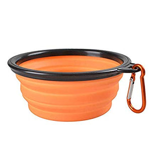Promotional Custom Logo Collapsible Travel Dog Bowls Portable Food & Water Bowls
