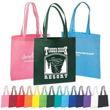 Load image into Gallery viewer, Promotional Custom Logo Value Polypropylene Tote