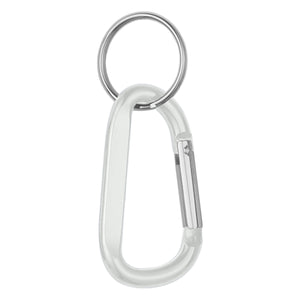 Custom Logo 6mm Carabiner With Split Ring