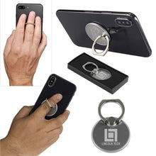 Load image into Gallery viewer, Promotional Custom Logo Phone Holder & Stand Ring