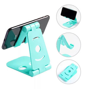 Promotional Custom Logo Basic Folding Smartphone & Tablet Stand