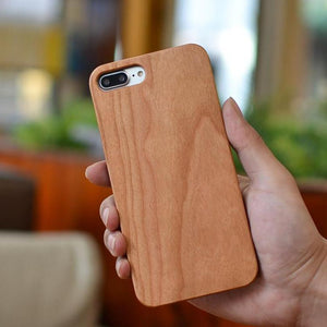 Bulk Blank Wood Phone Cases Customizable Wooden Covers - 3 Pack