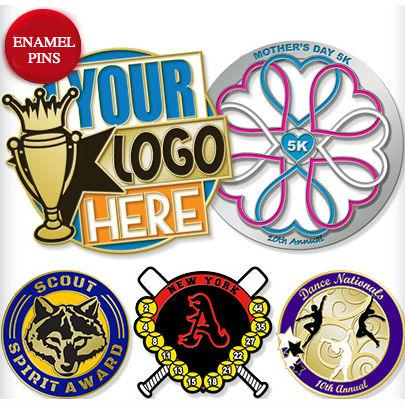 Custom Logo Promotional Enamel Pins, Lapel Pins