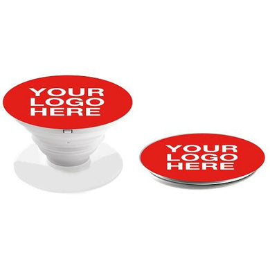 Promotional Custom Logo Pop Phone Grip Stand With Retail Package