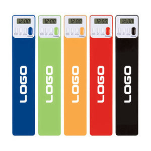 Promotional New Digital Bookmark and Reading Timer With Large Logo Display Area