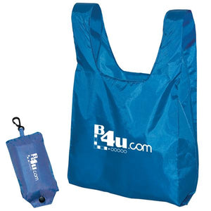 Promotional Custom Logo Folding Tote Bags In a Pouch