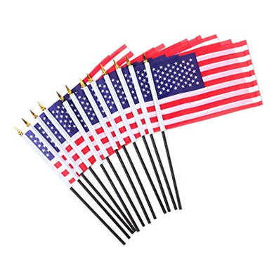 Custom Logo Hand Flags
