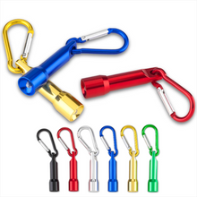Load image into Gallery viewer, Promotional Custom Logo Keychain Flashlight