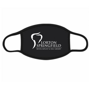 Custom Logo Cotton Face Mask Protects From Dust, Pollution And Cold - One Size Fits All