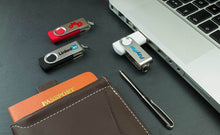 Load image into Gallery viewer, Custom Logo Quality High Storage Bestselling Swivel USB Drives