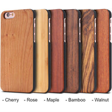 Load image into Gallery viewer, Bulk Blank Wood Phone Cases Customizable Wooden Covers - 3 Pack