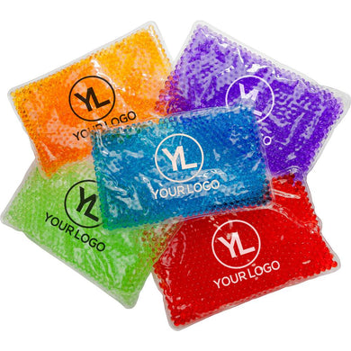 Promotional Custom Logo Deluxe Aqua Pearls Hot Cold Pack