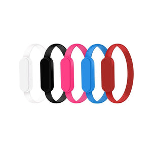 Promotional Custom Logo 2-in-1 Connector Charging Cable Bracelet