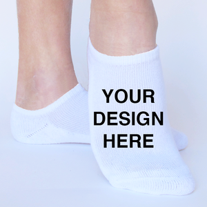 Custom Logo Toe Socks Printed Promotional Toe Socks One Size Fits All