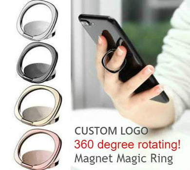 Promotional Custom Logo Smart Universal Phone Holder & Stand Ring