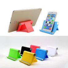 Load image into Gallery viewer, Promotional Custom Logo Multifunction Folding Table Mobile Phone Holder
