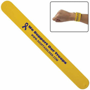 Promotional Custom Logo Silicone Slap Bracelet Wristbands
