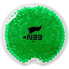 Load image into Gallery viewer, Promotional Custom Logo Round Gel Beads Hot or Cold Pack
