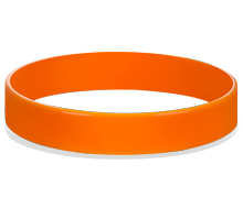 Custom Logo Silicone Wristbands