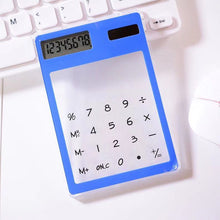 Load image into Gallery viewer, Promotional New Transparent Calculator With Premium Logo Display