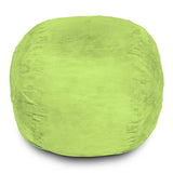 Bean Bag Chair, Light Green / 4FT