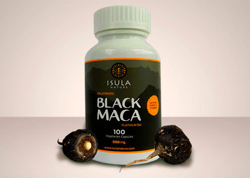 Black Maca V-Capsule 500 mg