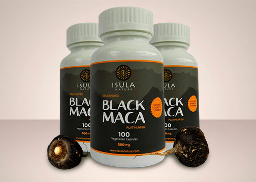 Black Maca V-capsule 500 mg X3