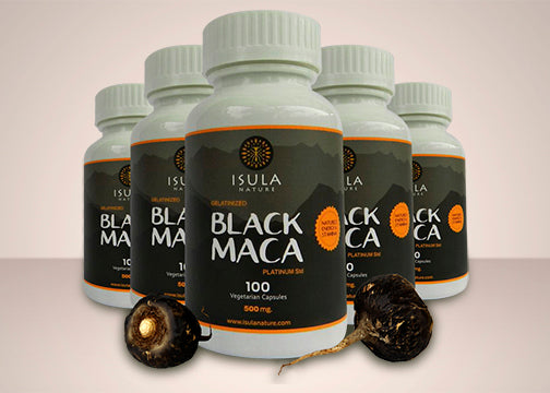 Black Maca V-capsule 500 mg X6