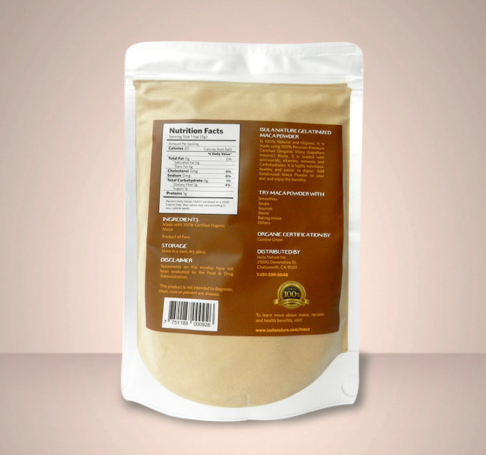Maca Powder 16 oz x3
