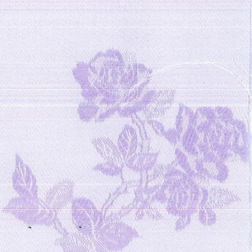 Lavender Floral Sateen Lycra Jacquard Woven Fabric - SKU 0112