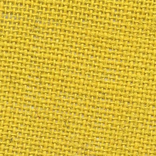 Jute Burlap Yellow Woven Fabric (Sold by the Roll) - SKU MYL.1787B