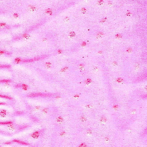 Chip Pink/Silver Sequin Lycra Jersey Knit Fabric