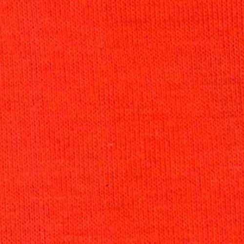 Orange Polyester/ Rayon/Lycra Knit Jersey Fabric