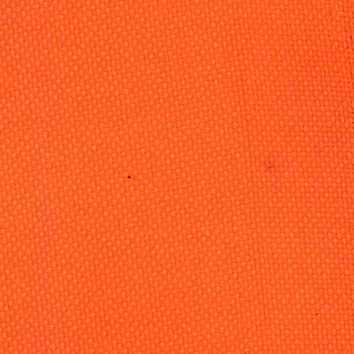 Bright Orange Pro Tuff Waterproof 20 Ounce  Canvas Woven Fabric