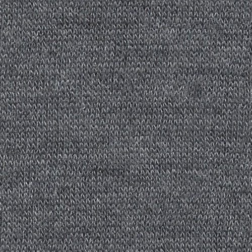 Charcoal 14.5oz Polyester/Cotton Sweatshirt Knit Fabric