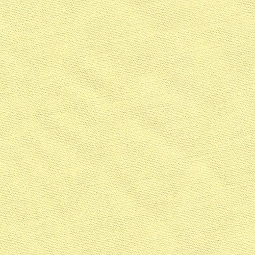 Yellow Stretch Cotton/Lycra Poplin Woven Fabric
