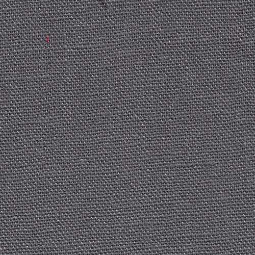 Charcoal Laundered Linen Woven Fabric