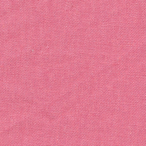 Coral Laundered Linen Woven Fabric