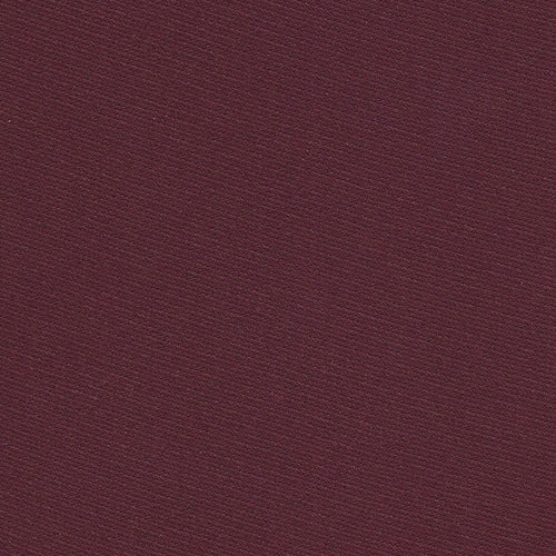 Wine Polyester Jersey Knit Fabric