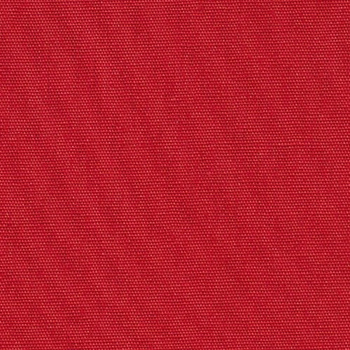 Red Polyester/Cotton Poplin Woven Fabric